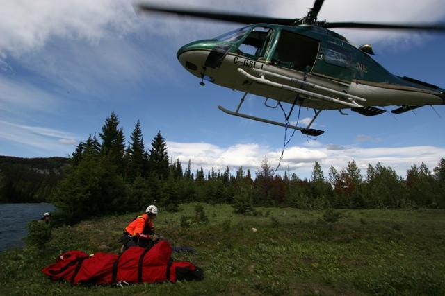Heli Longline Rescue