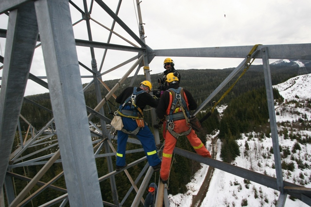 Level II | Rope Access & SPRAT Certification | Working at Heights ...